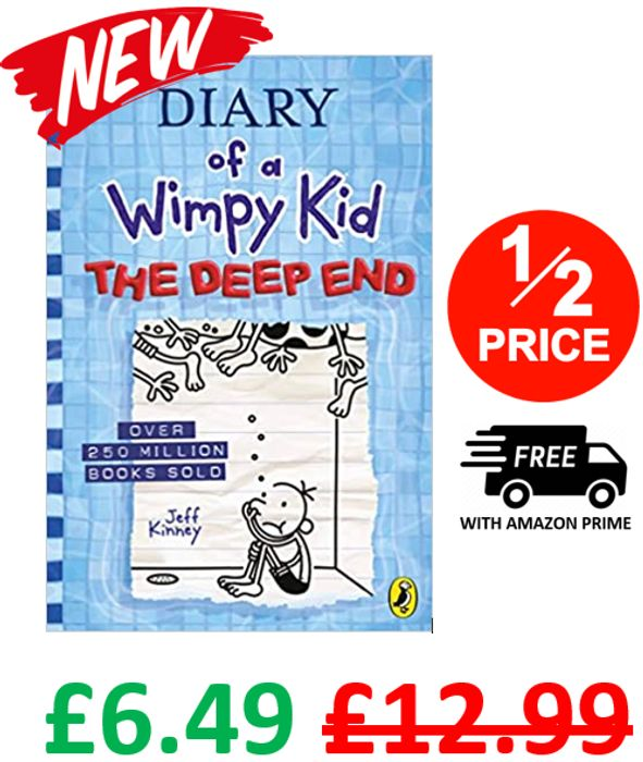 Diary of a Wimpy Kid: The Deep End (Book 15) Hardcover