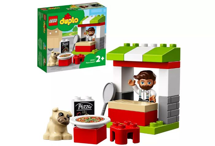 LEGO DUPLO Town Pizza Stand Pizza Set - 10927 - Only £10!