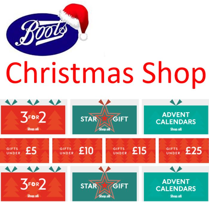 Special Offer - Boots Christmas Shop - ALL THE CHRISTMAS GIFT DEALS!