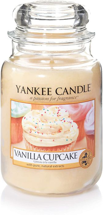 Yankee Candle Large Jar Scented Candle | VANILLA CUPCAKE
