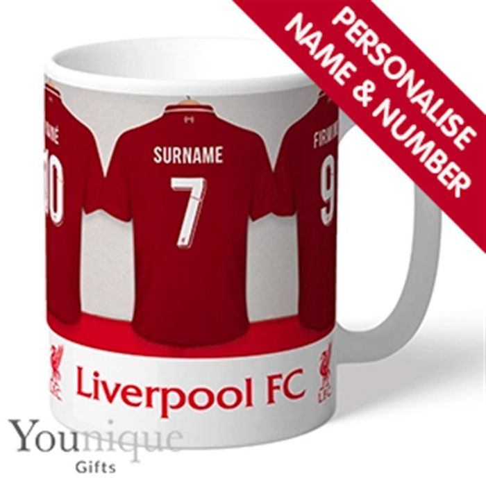 Personalised Football Liverpool FC Mug (other Teams are available links below)