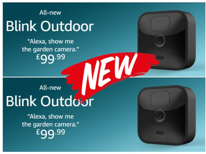 HEADS UP! All-New BLINK OUTDOOR   Wireless HD Security Camera