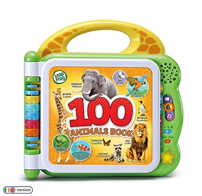 LeapFrog - 100 Animals Book - Baby Book with Sounds & Colours *4.8 STARS*