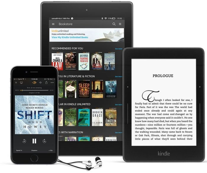 3 Months FREE Kindle Unlimited - Includes Magazines & Audiobooks!