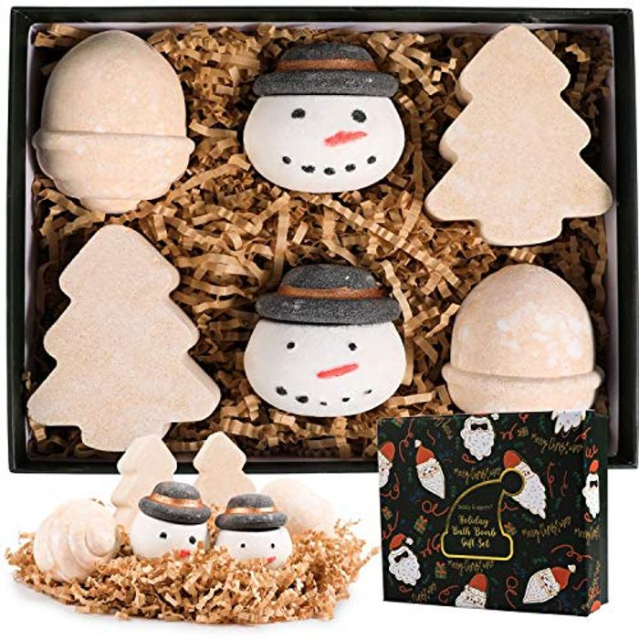 Body & Earth Bath Bombs Gift Set - Only 7.99!