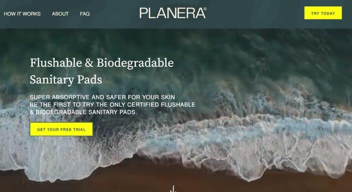 Planera Flushable Sanitary Pads Free Trial