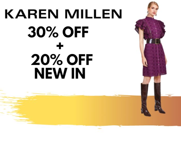 Special Offer - Karen Millen - 30% Off Everything + Extra 20% Off New In