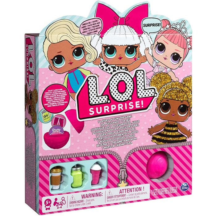 Official Lol Surprise 7 Layers of Fun Spin Master the Game