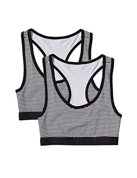 Women's Sporty Cotton Racer Back Top, Pack of 2