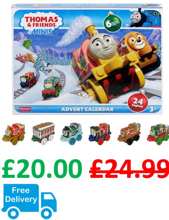 Thomas & Friends MINIS ADVENT CALENDAR + FREE DELIVERY