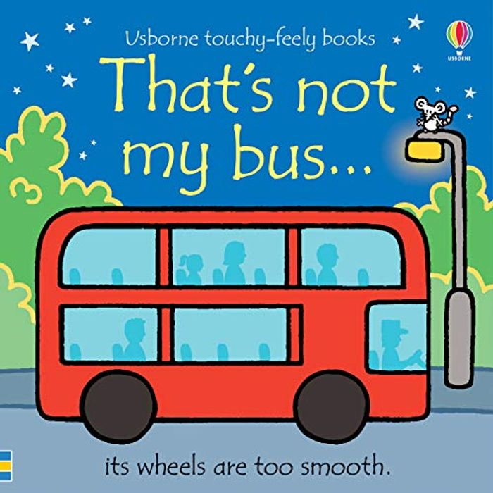 That's Not My Bus... Usborne Touchy Feely Board Book (2020) *4.8 STARS*