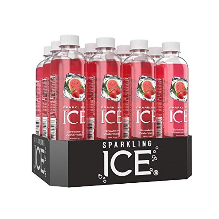Sparkling Ice Strawberry Watermelon Flavour Sparkling Water