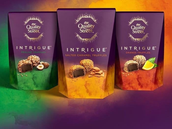 Quality Street Intrigue - Salted Caramel / Orange / Praline Truffles