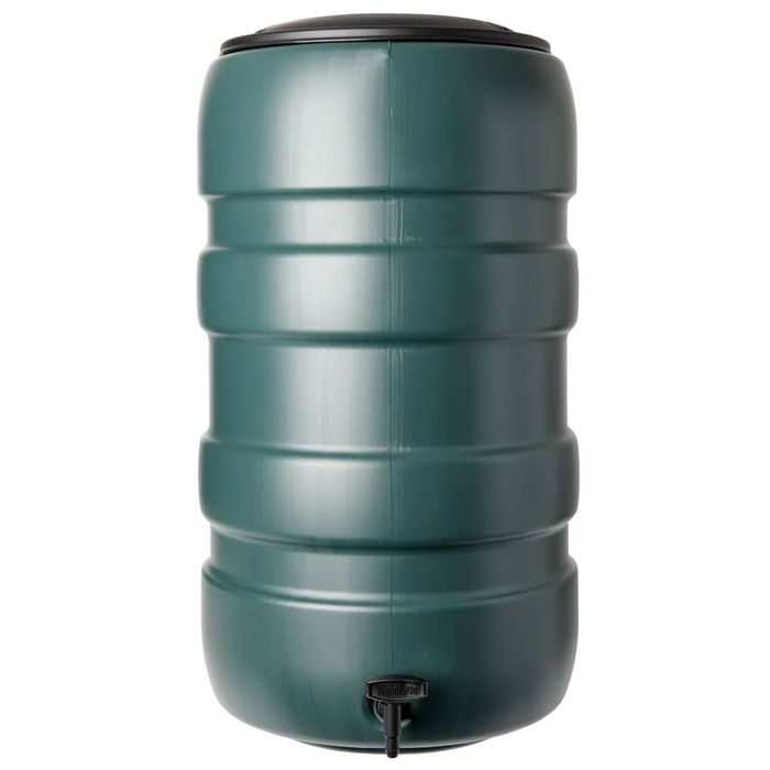 Wilko Green Water Butt with Tap 150L
