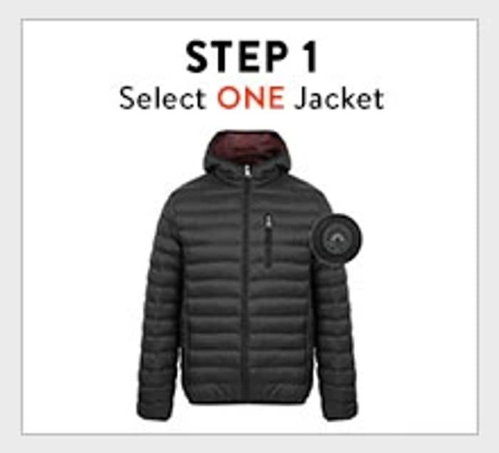 Bundle Deal - Choice of Men's Jacket + Backpack