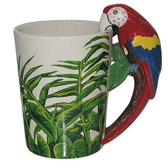 Puckator Mug With Parrot Handle - £7.99 Delivered