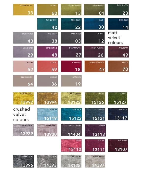 FREE Velvet Fabric Swatches