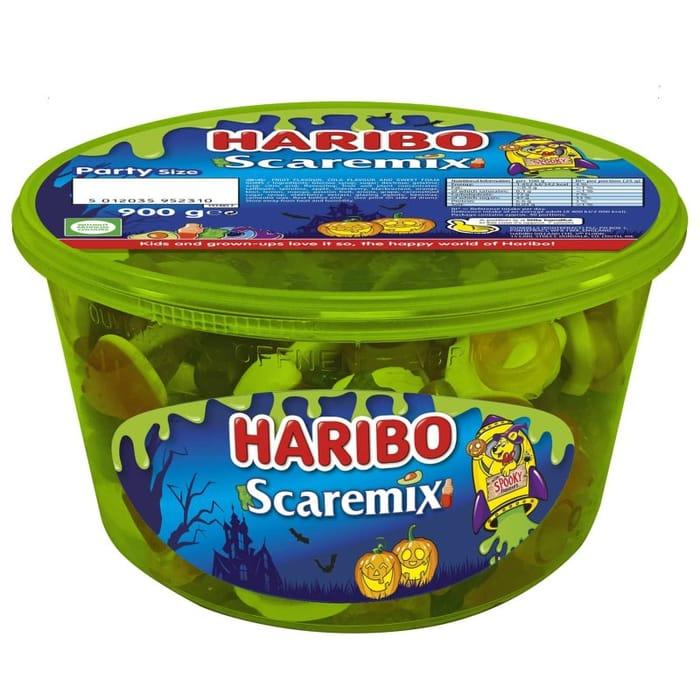 Haribo Scaremix BIG Tub 900g