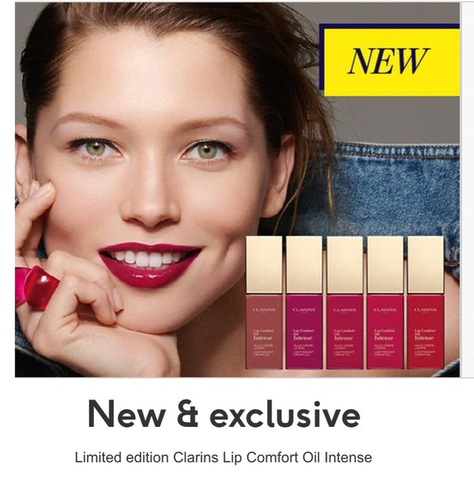 Clarins Lip Comfort Oil Intense , 5 Shades Available
