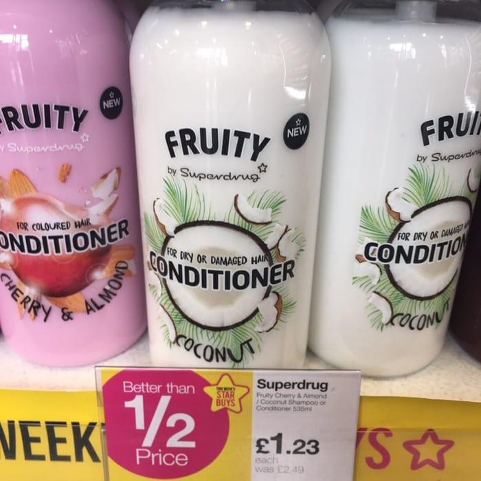 Fruity Cherry & Almond Conditioner 535ml