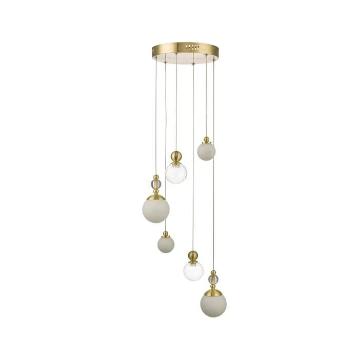Gold 'Carmella' Cluster Ceiling Light