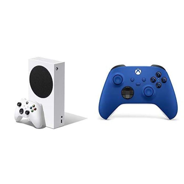 Pre Order Xbox Series S Console + Controller (Shock Blue)