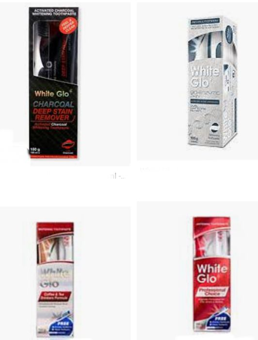1/2 Price on Selected White Glo Toothpaste