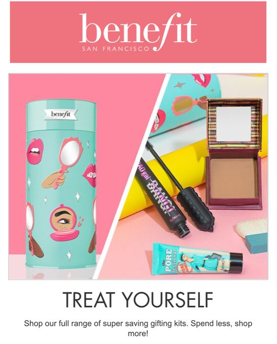 Benefit Gift Set on Offer Save 15%