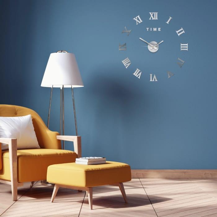 DIY 3D Sticker Wall Clock