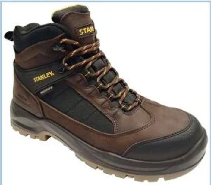 Stanley Yukon Waterproof Safety Boot - Brown Sizes 8-11
