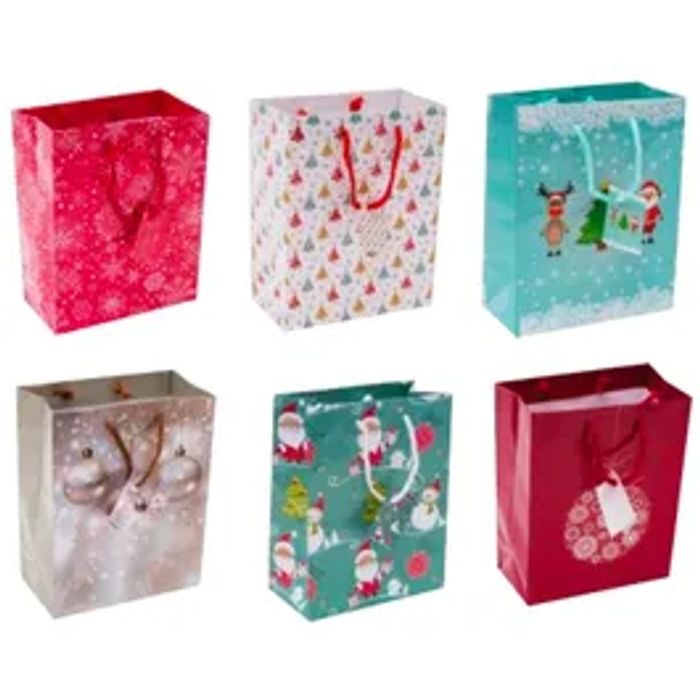 Medium Christmas Gift Bags *6 Pack