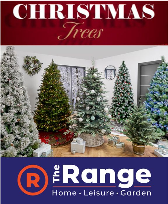 105 Christmas Trees from £4.99 at The Range