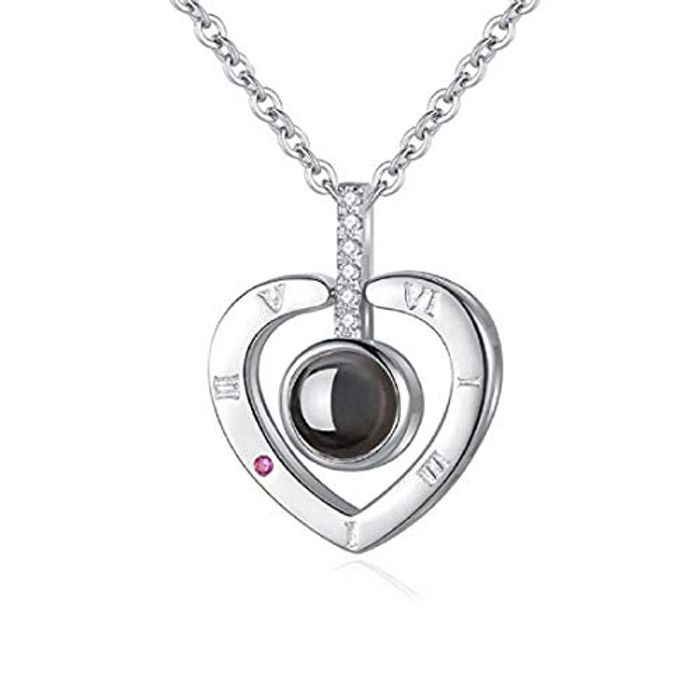 Price Drop! iAmotus Love Memory Zircon Crystal Necklace
