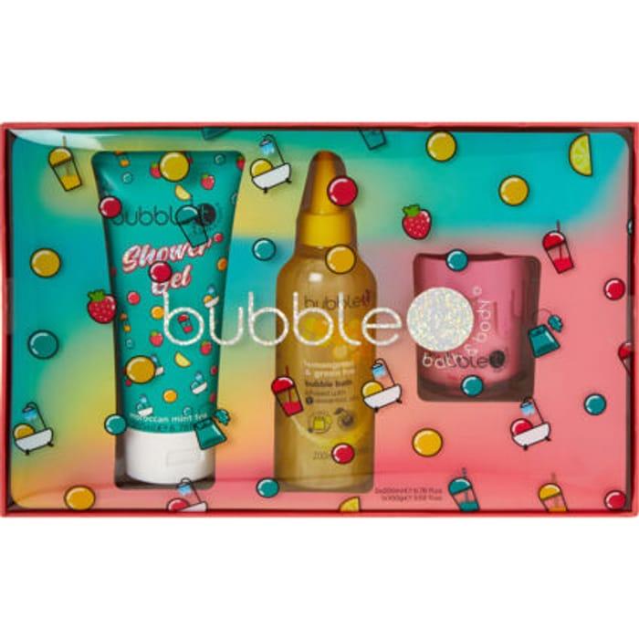 Cheap BUBBLE T COSMETICS Bathroom Essentials Gift Set at TK Maxx