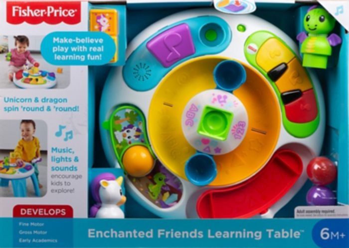 Fisher-Price Enchanted Friends Learning Table