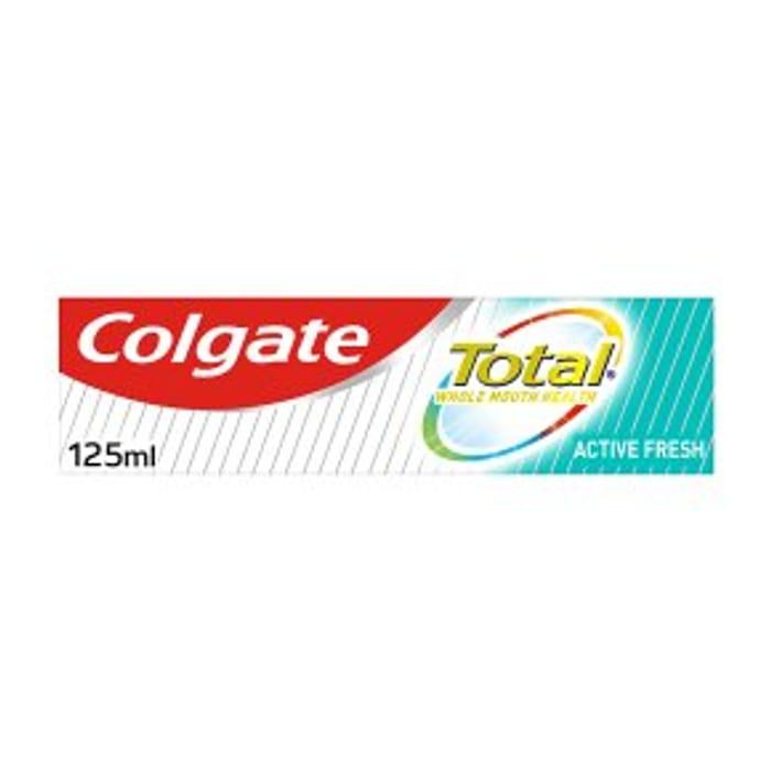 Colgate Total Freshening 125ml at Waitrose
