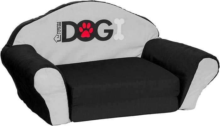 DOGI Pet Dog Sofa Lounge Beds SMALL Black