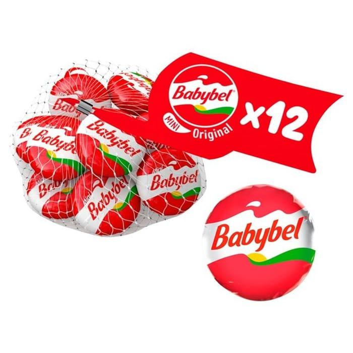 Mini Babybel Original/Light Family Pack 12 X 20g