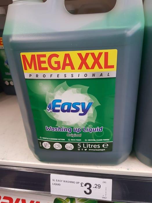 Mega XXL Easy Washing up Liquid at Farmfoods
