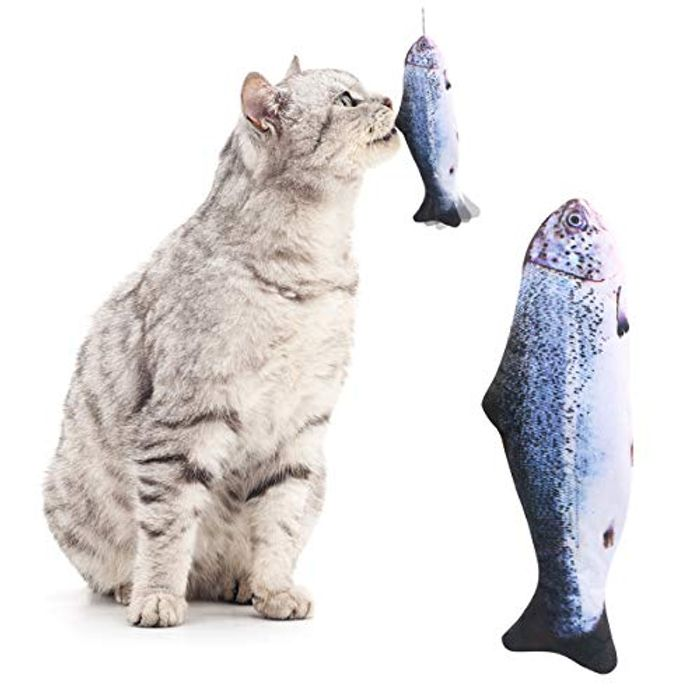 DEAL STACK - Fish Cat Toy