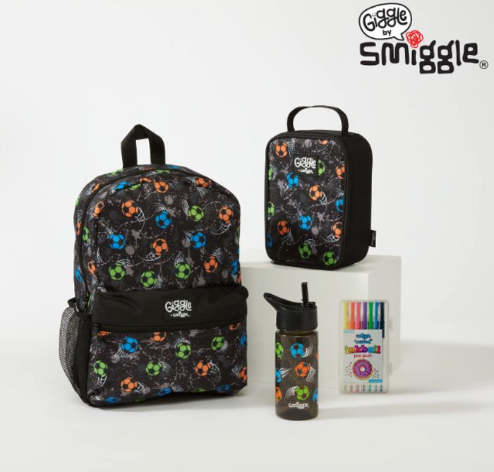 Giggle by Smiggle 2 Lunch and Pen Pack School Bundle