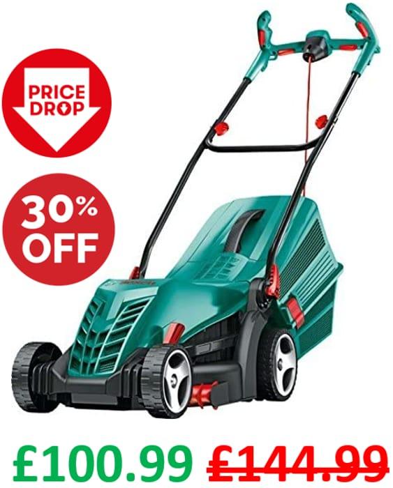SAVE £44! Bosch Rotak 36 R Electric Rotary Lawn Mower, 36cm Cut