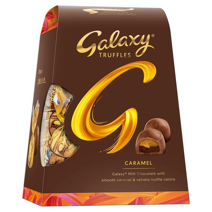 Galaxy Truffles Caramel Chocolate Medium Gift Box