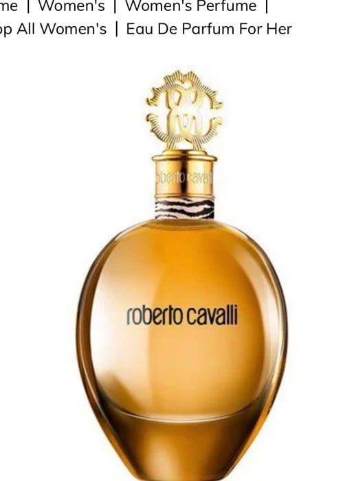 Roberto Cavalli Eau De Parfum for Her