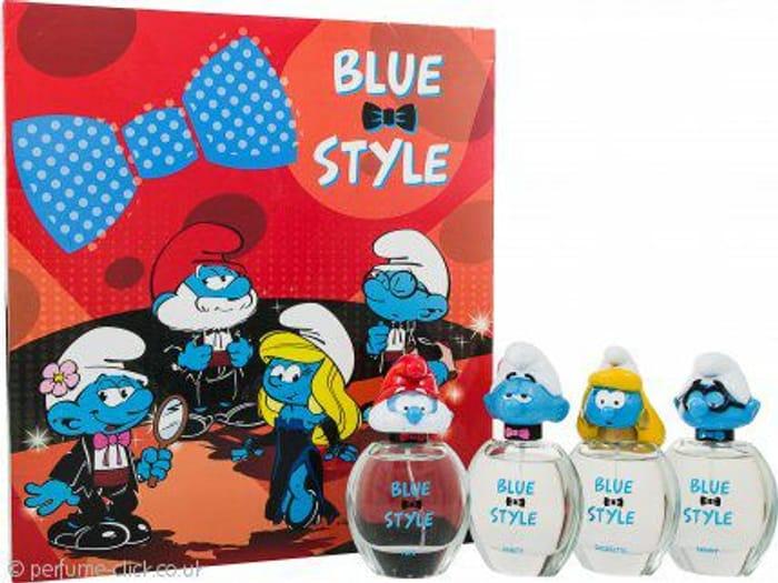 The Smurfs Blue Style Gift Set 4 X 50ml EDT Spray