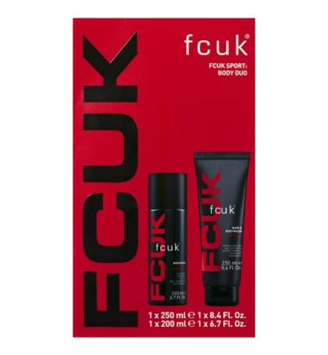 Cheap FCUK SPORT Body Duo Christmas Gift Set at Boots
