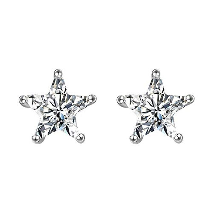 Silver Stud Earrings for Women - Only £5.19!