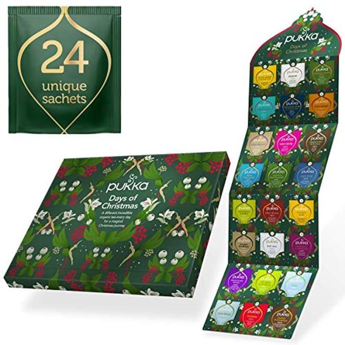 Pukka Herbs Tea Advent Calendar 2020