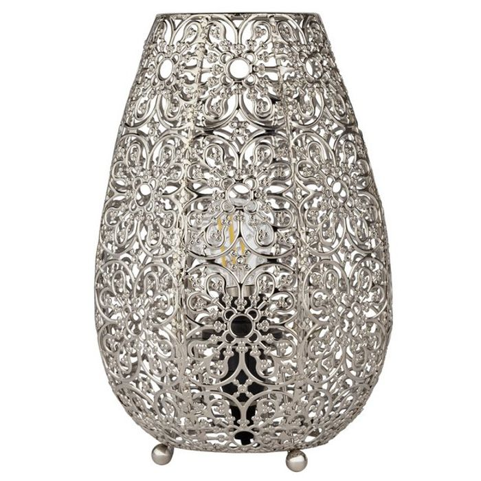 Argos Home Global Fretwork Table Lamp