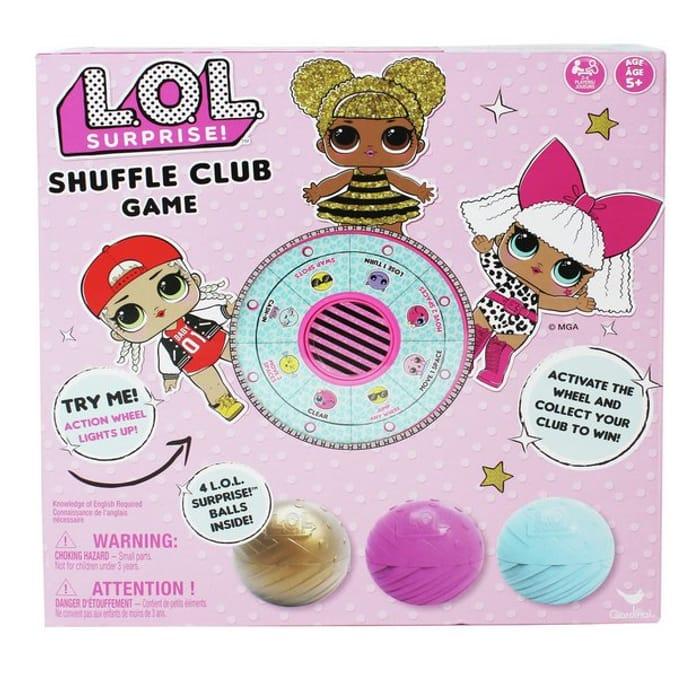 LOL Surprise Shuffle Club Game